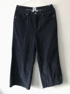 Urban Outfitters Corduroy broek donkerblauw