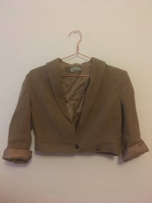 Cropped Woll Jacke Vintage London