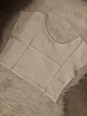 H&M Cropped shirt wolwit