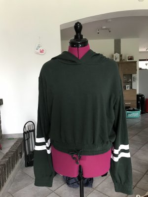 H&M Hooded Sweater forest green