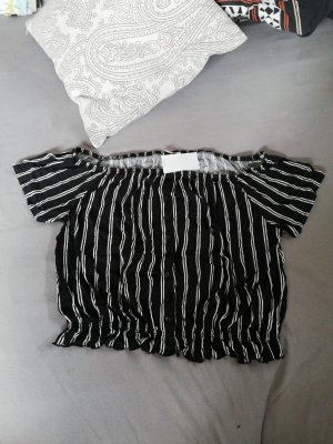 Croptop gestreift