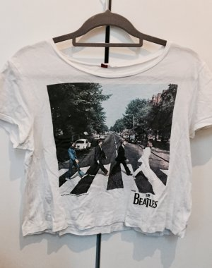 Croptop mit Beatles Print
