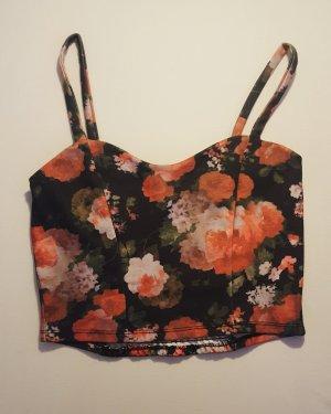 Croptop mit Floral Print von Amy & Ivy, Größe M