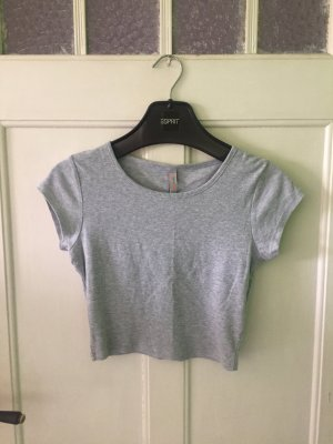 Fishbone T-shirt court gris clair