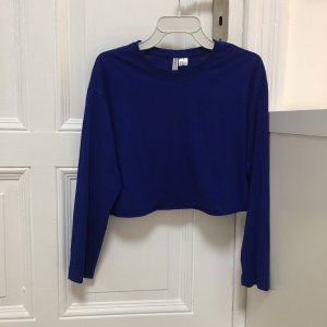 H&M Pull bleu acétate