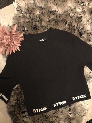 Ivy Park Cropped shirt zwart-wit