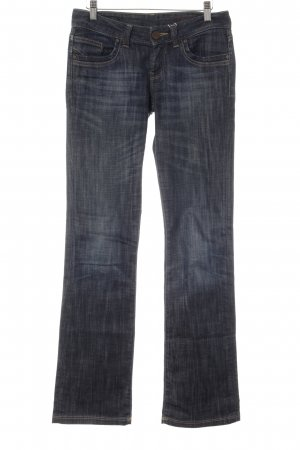 Cross Boot Cut Jeans blau Casual-Look