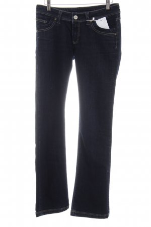 "Cross Boot Cut Jeans ""Laura"" dunkelblau"