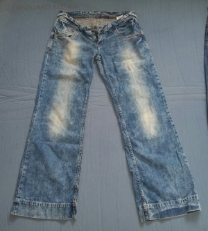 Cross Damen Jeans Estella W31/ L32 Top Bootcut Denim