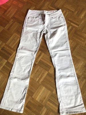 Cross Boot Cut Jeans white