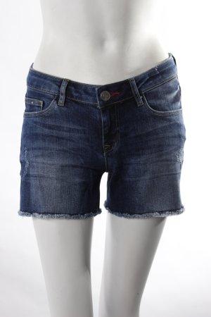 Cross Jeans Jeansshorts blau