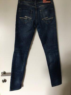 Cross Tube Jeans blue
