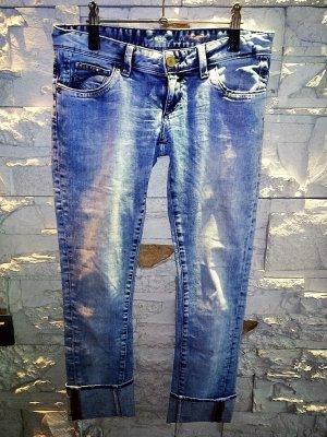CROSS Jeanshose in gr 29/32 Farbe Blau