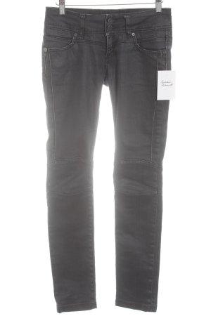 Cross Drainpipe Trousers dark grey casual look