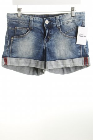 Cross Shorts blau-wollweiß Beach-Look