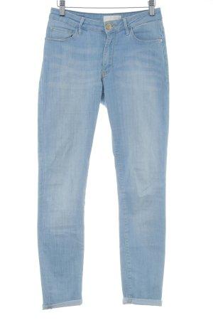 Cross Skinny Jeans pale blue jeans look
