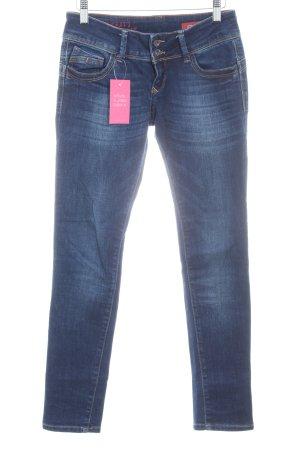 Cross Jeans skinny blu scuro stile casual