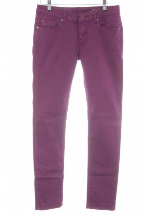 Cross Skinny Jeans lilac casual look