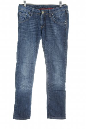 Cross Skinny Jeans steel blue casual look