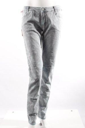 Cross Skinny Jeans türkis-grau