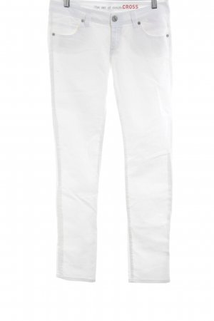 Cross Skinny Jeans white casual look