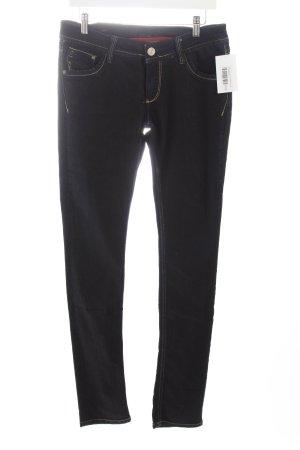 Cross Slim Jeans dunkelblau meliert Casual-Look