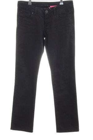 Cross Straight Leg Jeans black casual look