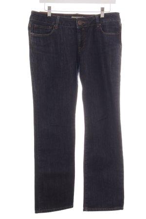 Cross Straight-Leg Jeans dunkelblau Casual-Look