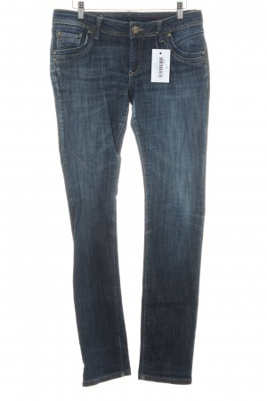 Cross Straight Leg Jeans dark blue casual look