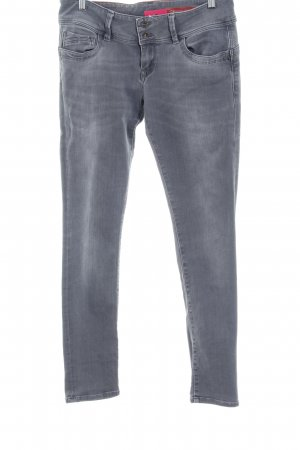 Cross Straight-Leg Jeans graublau Jeans-Optik