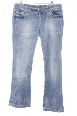 Cross Straight Leg Jeans azure casual look