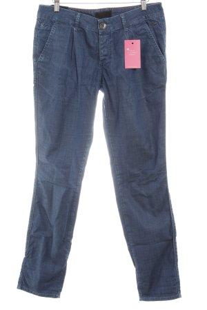 Cross Straight Leg Jeans steel blue casual look