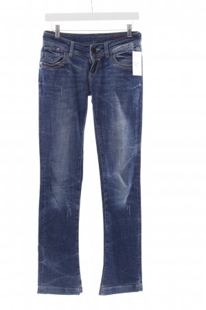 Cross Straight-Leg Jeans stahlblau Casual-Look