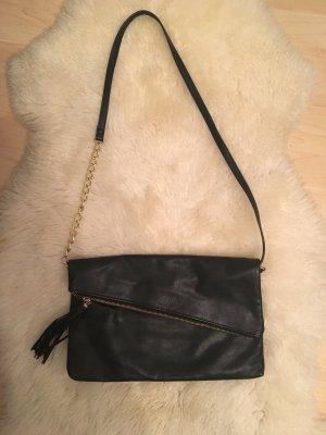 Crossbody Bag in schwarz Gold