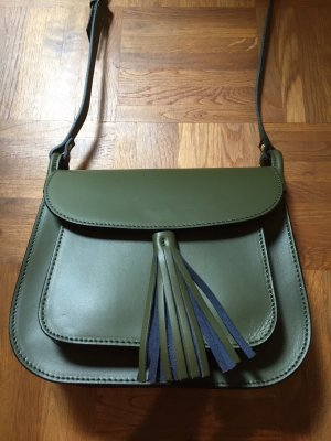 Crossbody-Bag in tannengrün