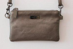 Crossbody Bag Umhängetasche von LUISA CERANO in Gold Metall Farbe