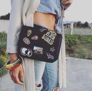 Zara Sac porté épaule multicolore faux cuir