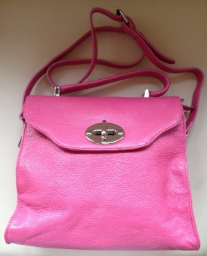 Carry Bag pink-silver-colored