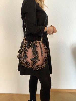 Prada Pouch Bag rose-gold-coloured-black