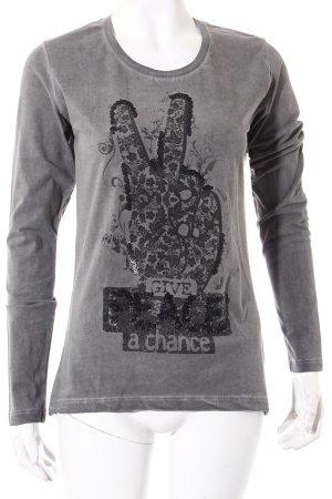 CRSM Shirt grau Casual-Look