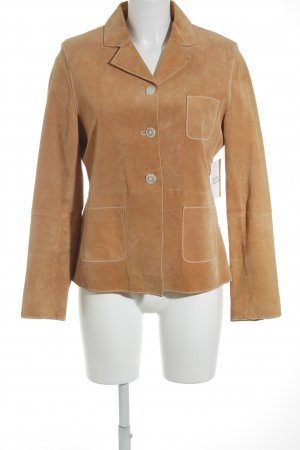 Cruse Lederjacke hellorange Business-Look