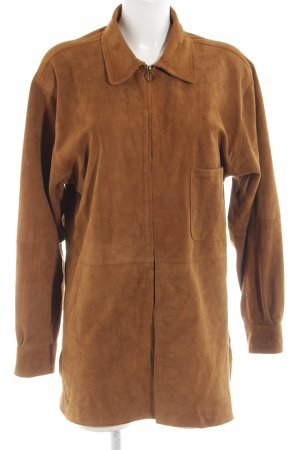 Cruse Übergangsjacke bronzefarben Business-Look