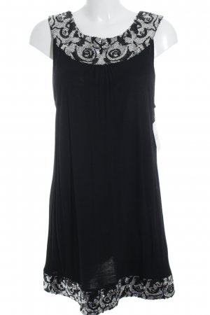 Cruse Wear & Co Pailettenkleid schwarz Paillettenverzierung