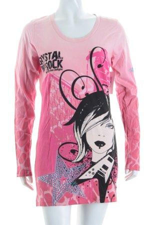 Crystal Rock by Christian Audigier Longsleeve Motivdruck Street-Fashion-Look