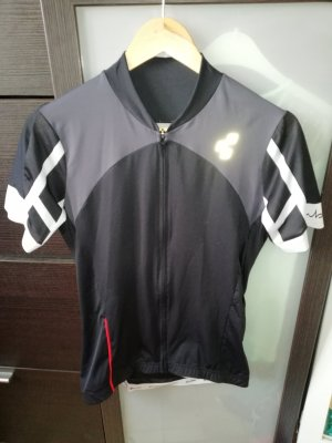 Cube Sportshirt zwart