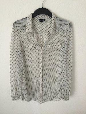 Cubus gepunktete transparente Bluse