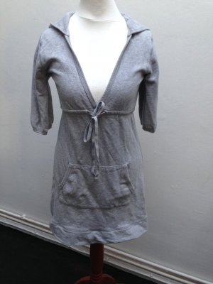 Cubus Jersey Kapuzen Kleid Gr. XS 32 34