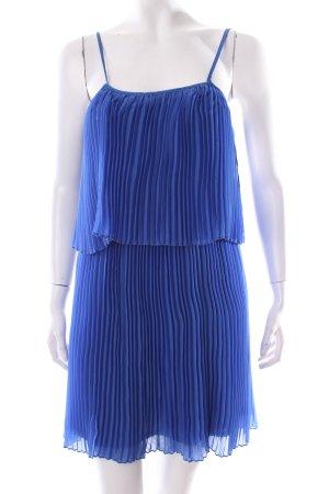 Cubus Trägerkleid blau klassischer Stil