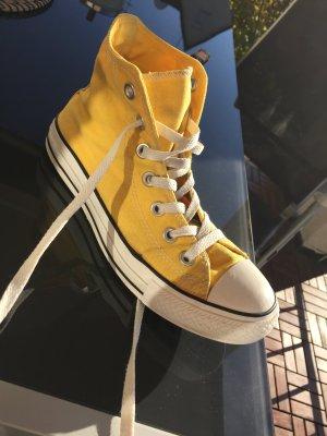 Cucks Converse, gelb