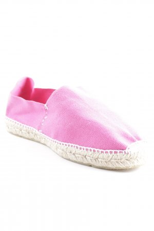 Cuesue Main Espadrille Sandals magenta-cream athletic style